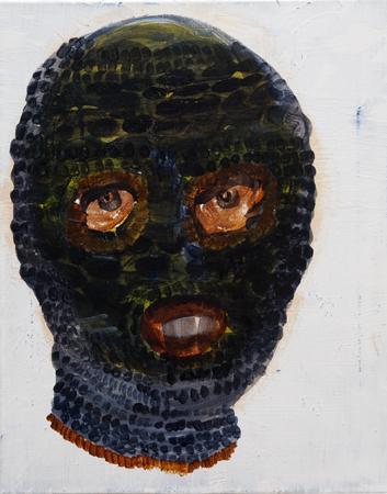 Semi Self Portrait as a Ski Mask