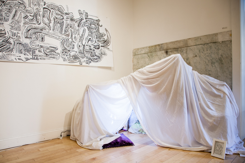 Delia Kovac and Marissa Paternoster: Safe Space at the AS220 Project Space in Providence till 9/25